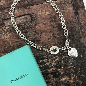 Tiffany & Co Please Return To Tiffany Toggle Neck